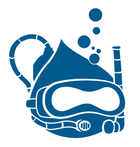 drupal-diver-monochrome(darkblue)